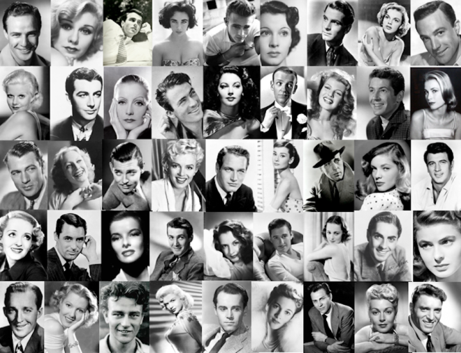 old hollywood glamor shots