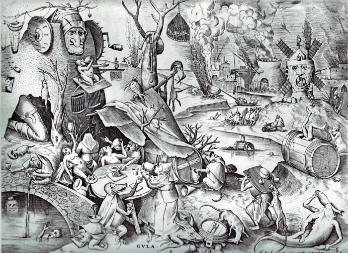 Seven Deadly Sins, Peter Bruegal