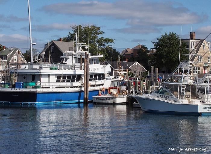 Hyannisport docks October 2013