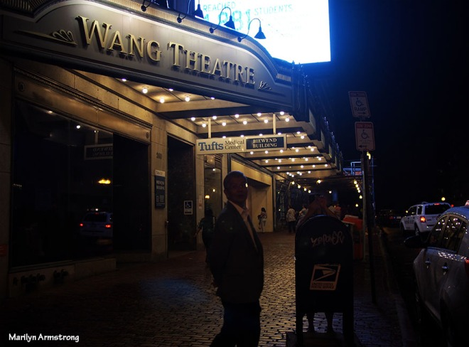wang theater night boston