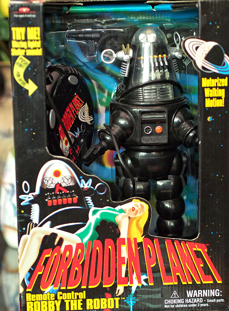 Robby the Robot Forbidden Planet In box