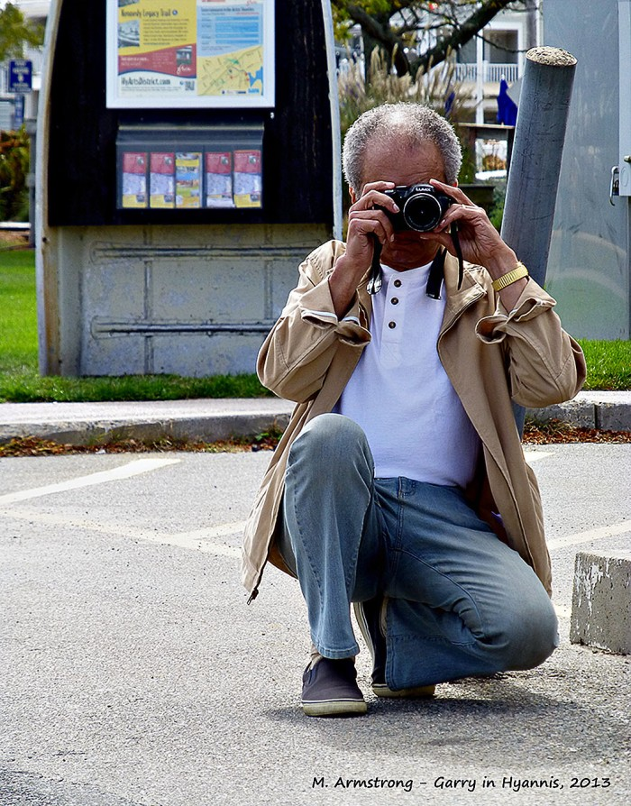 Who doesn't feel a compelling need to take pictures of the person taking pictures?
