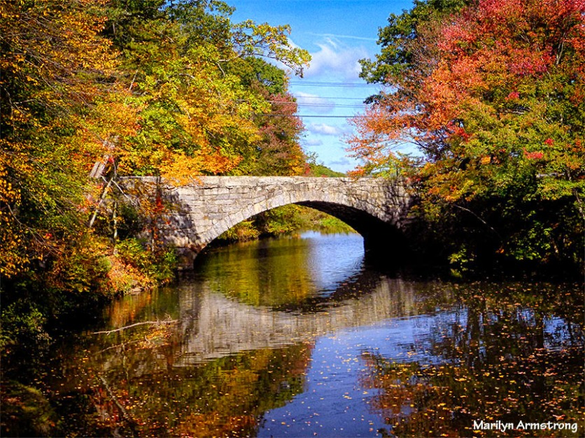 October -- canal and river