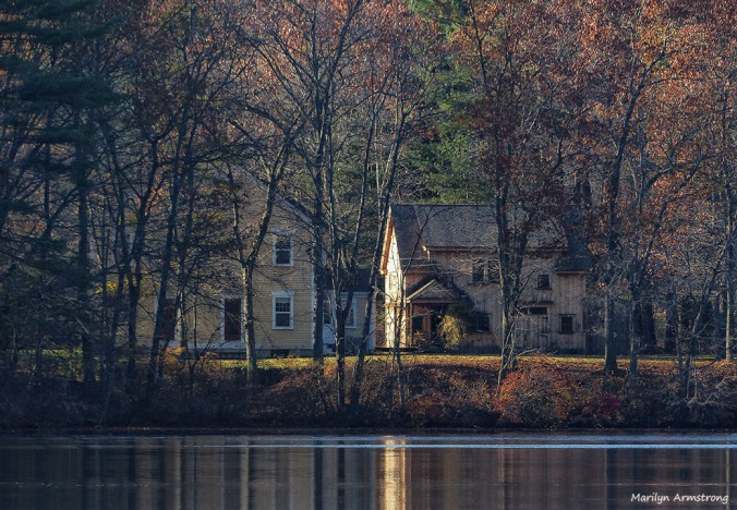 house by whitins pond november