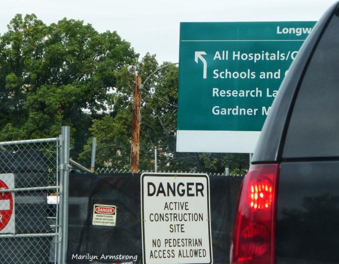 Boston road signs