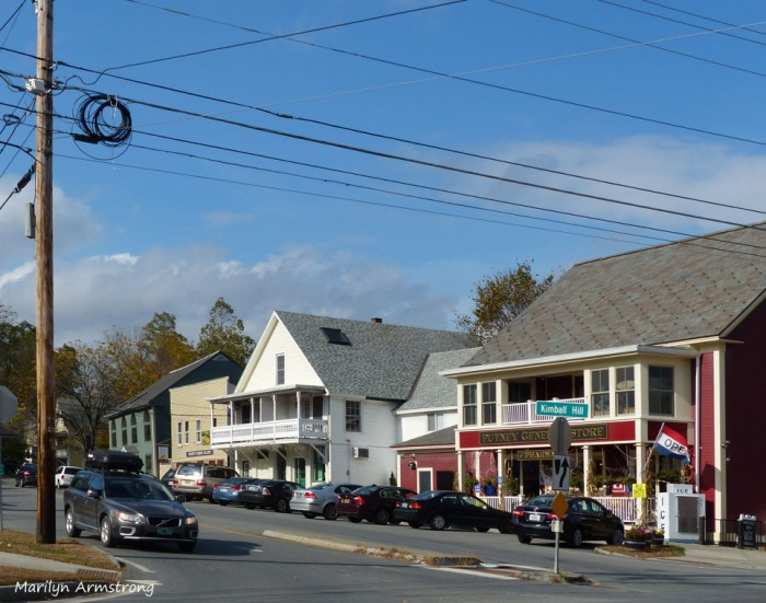 Downtown Putney, Vermont