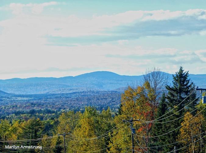 Maine autumn roads
