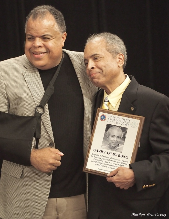 Garry Armstrong and Anton Armstrong ... September 2013