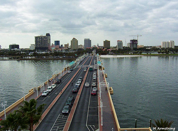 St Petersburg bridge