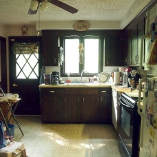 kitchen in morning light