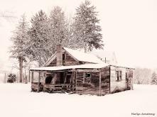 hadley shack snow field