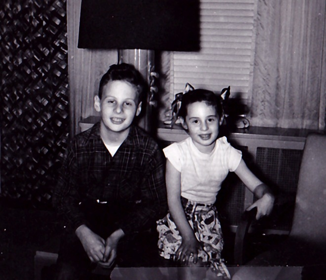 1952 with my brother