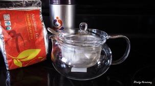 tea pot, tea canister, tea
