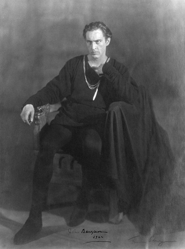 John Barrymore as Hamlet, 1922
