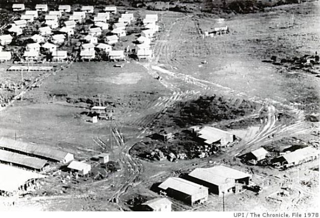 Jonestown aerial view