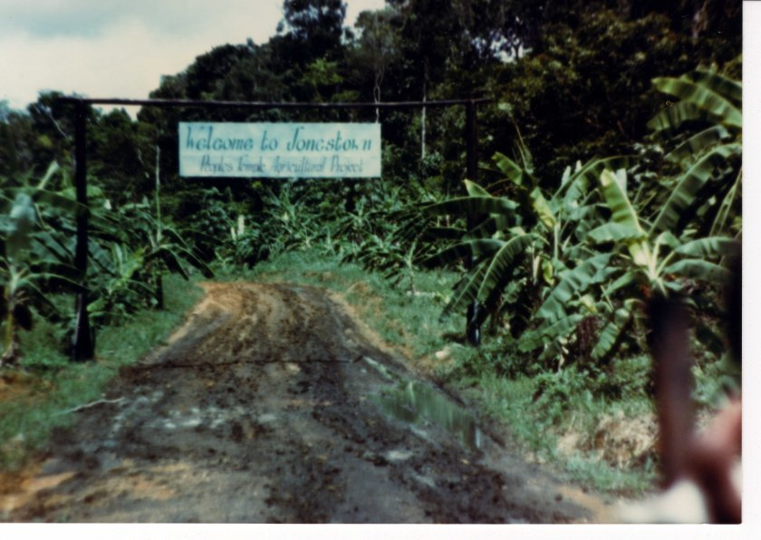 Jonestown_entrance_welcome