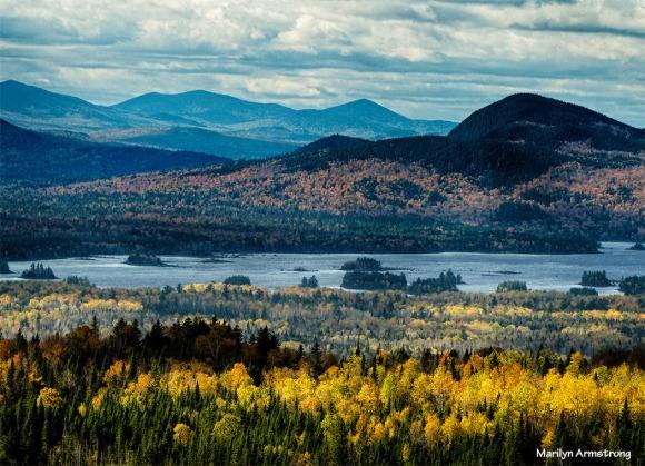 Attean View - October - Jackman, Maine