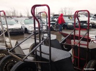Motley mass of junked cars