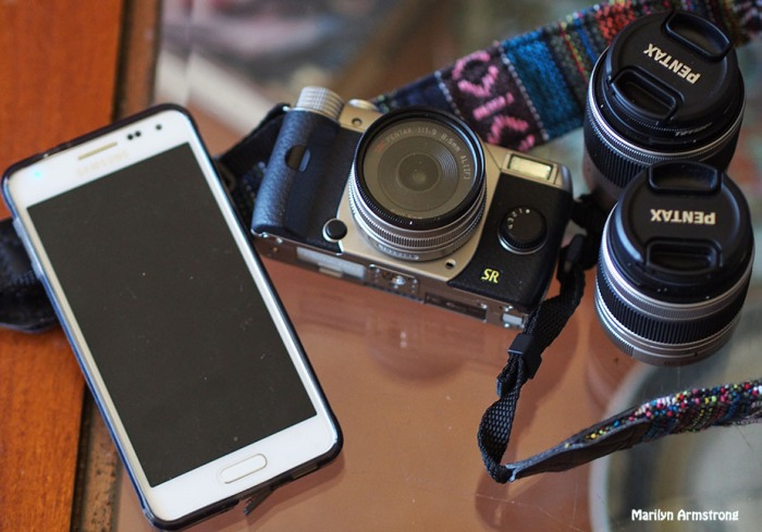 Q7 and lenses with cell phone