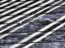 striped deck dark grey