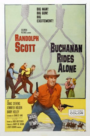 """Buchanan Rides Alone FilmPoster"" by Source. Licensed under Fair use via Wikipedia."
