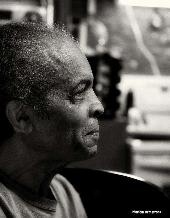 Garry black and white portrait 1