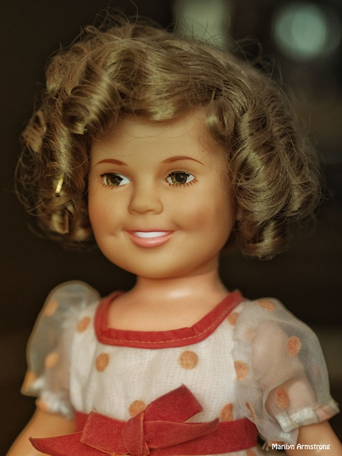Shirley Temple Doll portrait