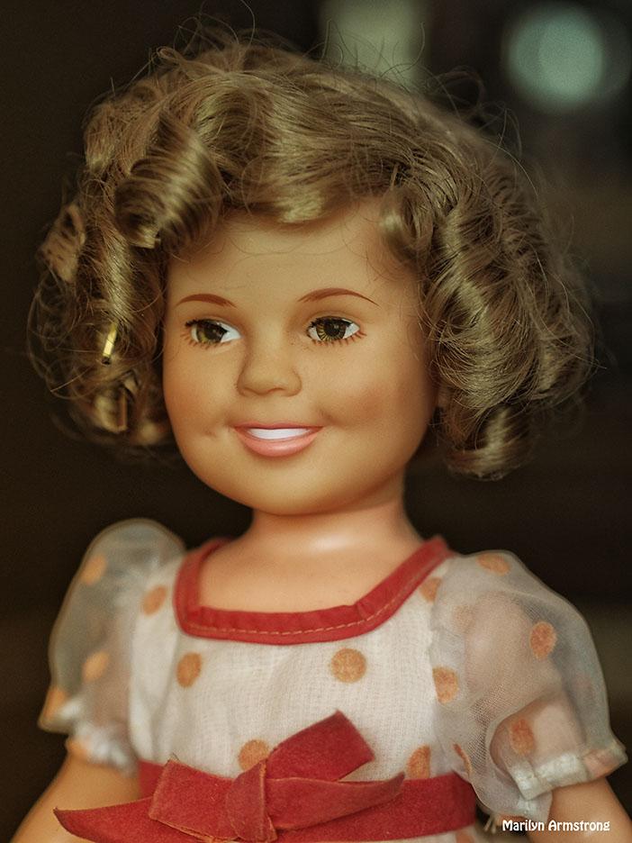 Shirley Temple Doll portrait