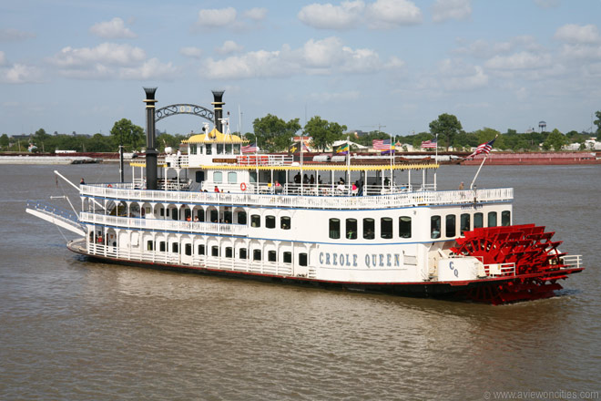 creole queen paddle wheeler