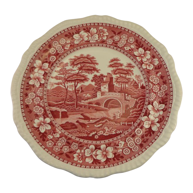 spode's tower plate