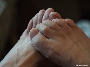 My feet 15