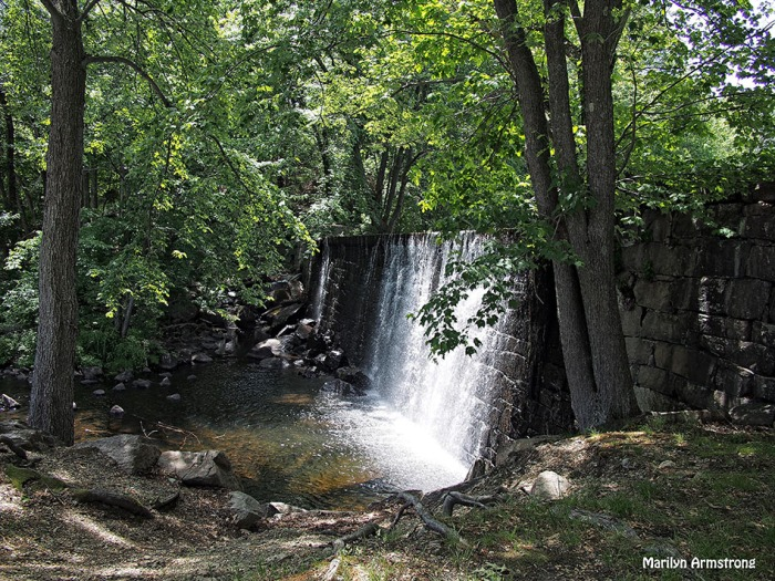 Manchaug falls june 2015