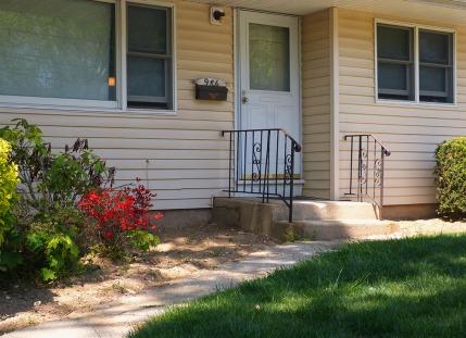 A perfect suburban stoop