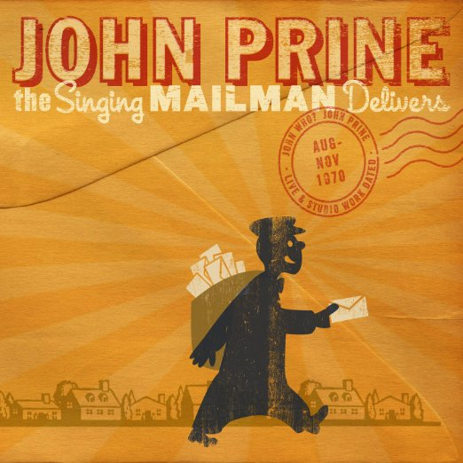 john prine the mailman delivers CD