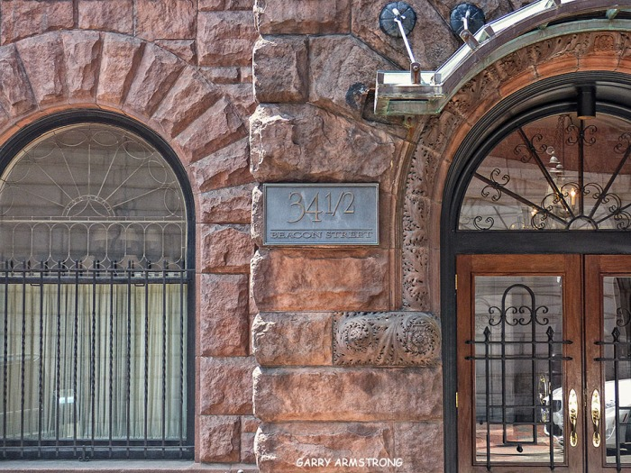 On Beacon Hill, old, indelible stone buildings