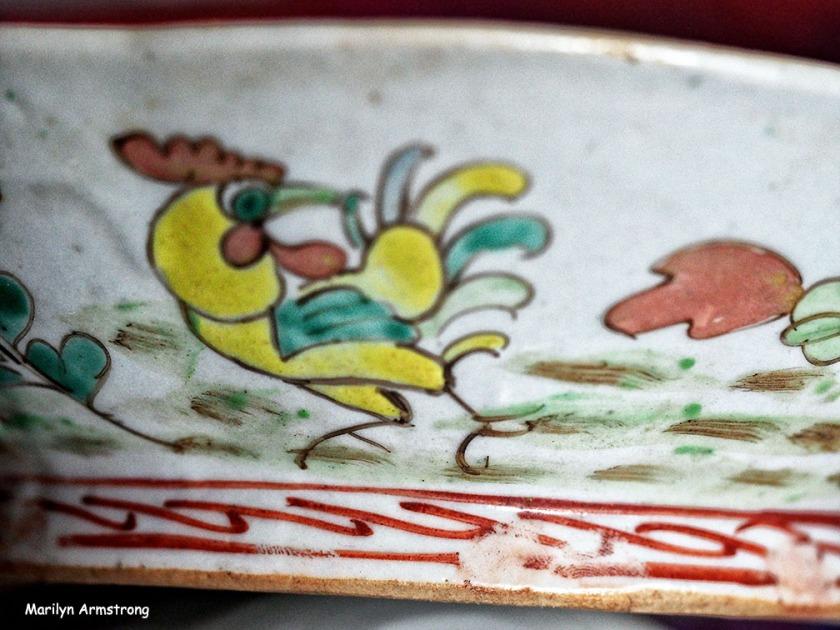 qing famille rose rice bowl
