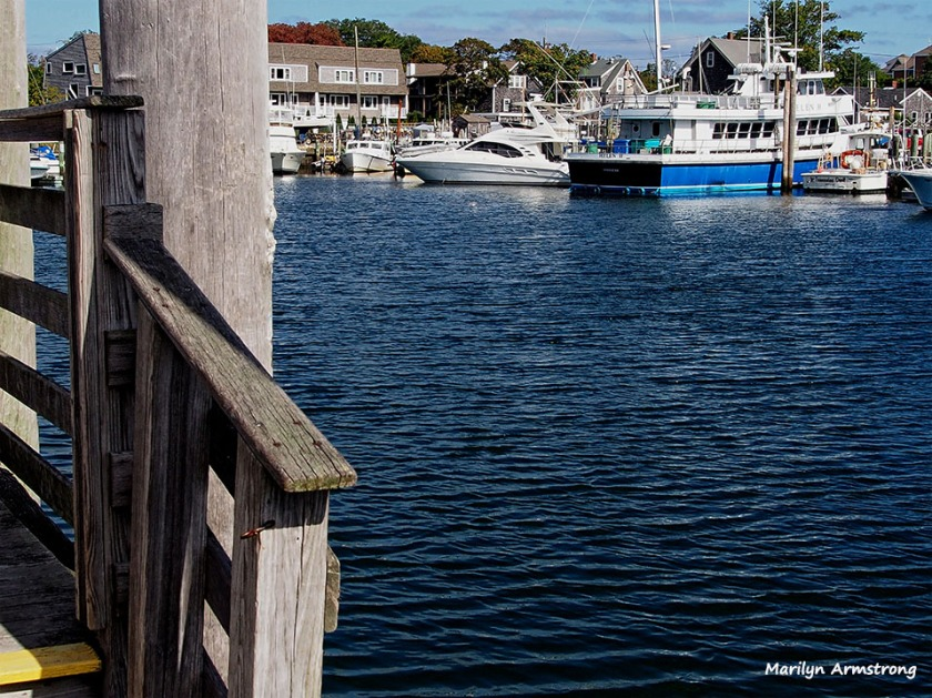 Hyannis harbor docks