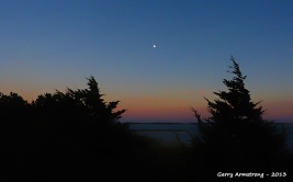 A star high in the sky - Photo: Garry Armstrong
