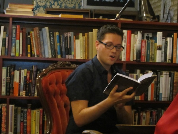 David Ferrell reading the opening of If Only Again.