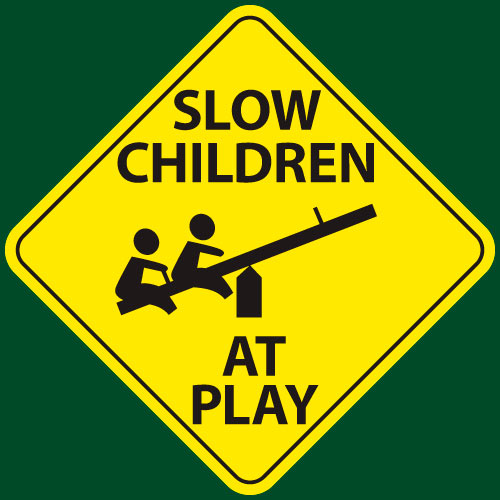 slow children at play