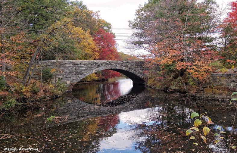 Bridge across the Blackstone River