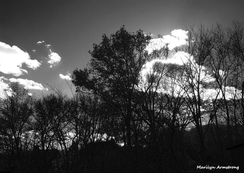 Clouds over Uxbridge, November