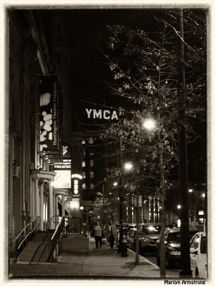 Night lamps in Boston