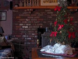 Christmas living room poster 2015