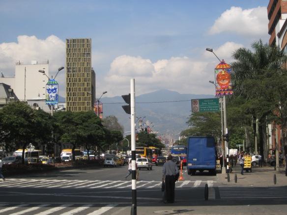 Medellin downtown