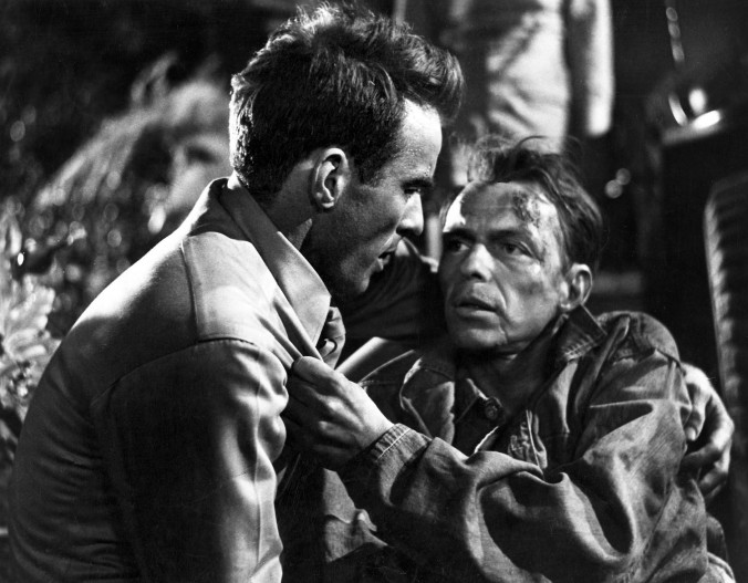 Pictured: Montgomery Clift and Frank Sinatra in a scene from FROM HERE TO ETERNITY, 1953.