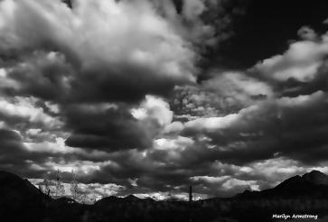 High clouds in a big sky