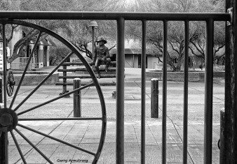 Western fence -- Photo: Garry Armstrong