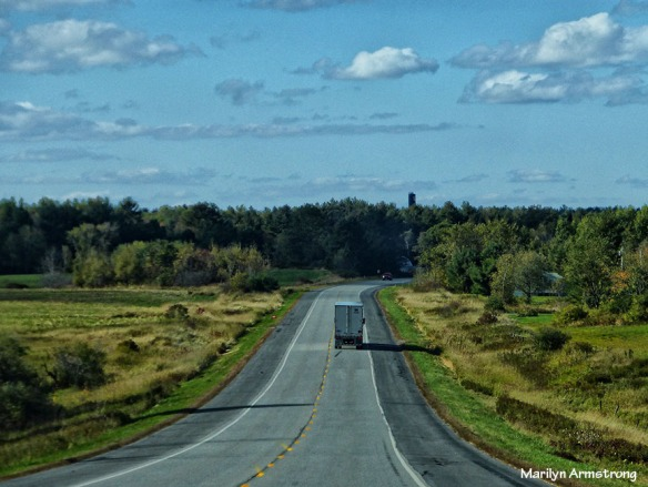 TRUCK ON ROUTE 201 IN MAINE