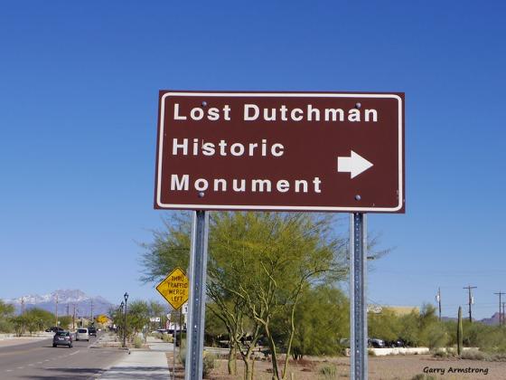 Lost Dutchman now found